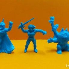 Figuras de Goma y PVC: LOTE 3 FIGURAS PVC DUNKIN THUNDERCATS. Lote 194005801