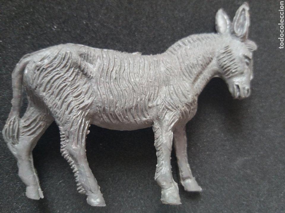 Figuras de Goma y PVC: Antiguas Figuras en Plástico. Burro y/o Asno, Perro. Pipero, kiosko, etc ( Sin Marca ) - Foto 2 - 194028840