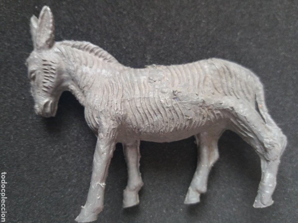 Figuras de Goma y PVC: Antiguas Figuras en Plástico. Burro y/o Asno, Perro. Pipero, kiosko, etc ( Sin Marca ) - Foto 4 - 194028840