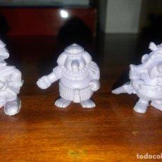 Figuras de Goma y PVC: LOTE 3 FIGURAS ASTÉRIX MORADAS. DARGAU. AÑOS 70. Lote 194068068