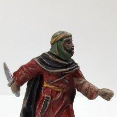 Figuras de Borracha e PVC: ARABE BEDUINO . FIGURA REAMSA Nº139 . SERIE LAWRENCE DE ARABIA . AÑOS 50 EN GOMA. Lote 194074530