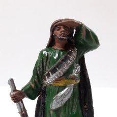 Figuras de Goma y PVC: ARABE BEDUINO . FIGURA REAMSA Nº143 . SERIE LAWRENCE DE ARABIA . AÑOS 50 EN GOMA. Lote 194076403