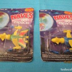 Figuras de Borracha e PVC: NAVES DEL ESPACIO REDONDO. Lote 194101060