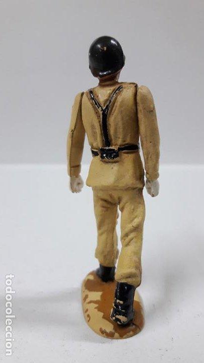 Figuras de Goma y PVC: SOLDADO ESPAÑOL EN DESFILE . REALIZADO POR TEIXIDO . AÑOS 50 EN GOMA - Foto 4 - 194111662