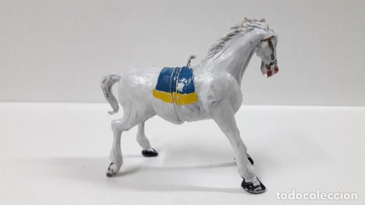 Figuras de Goma y PVC: CABALLO . REALIZADO POR ESTEREOPLAST . ORIGINAL AÑOS 60 - Foto 2 - 194112163