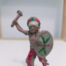 Figuras de Goma y PVC: LAFREDO INDIO GOMA. Lote 194160913