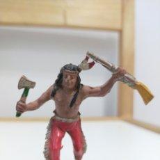 Figuras de Goma y PVC: LAFREDO INDIO GOMA. Lote 194161217