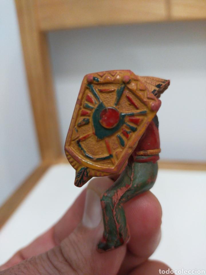 Figuras de Goma y PVC: Reamsa indio goma - Foto 3 - 194161655