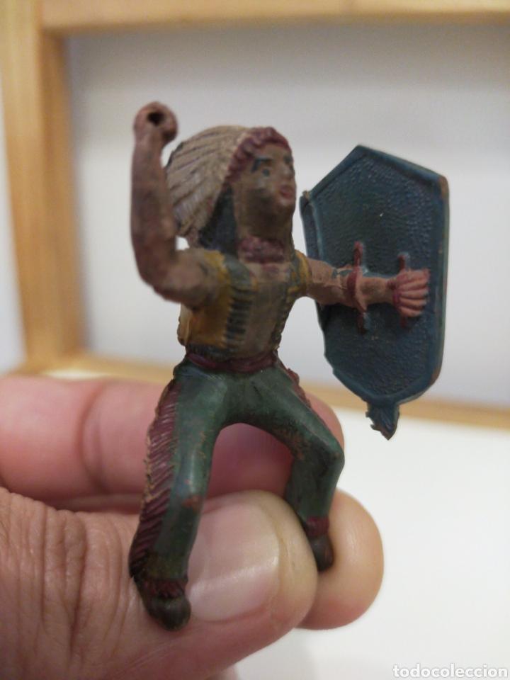 Figuras de Goma y PVC: Reamsa indio goma - Foto 4 - 194161836