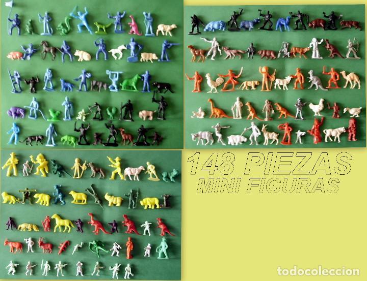 FIGURAS Y SOLDADITOS DE MENOS 6 CTMS - 11024 (Juguetes - Figuras de Goma y Pvc - Dunkin)