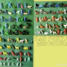 Figuras de Goma y PVC: FIGURAS Y SOLDADITOS DE MENOS 6 CTMS - 11024. Lote 194176480