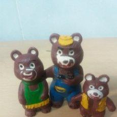 Figuras de Goma y PVC: FAMILIA DE OSOS. Lote 194176838