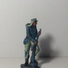 Figuras de Goma y PVC: FIGURA SOLDADO LEGION EXTRANJERA EN PLASTICO DE PECH 75. Lote 194182876