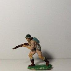 Figuras de Goma y PVC: FIGURA SOLDADO INGLES EN GOMA DE PECH 79. Lote 194184326