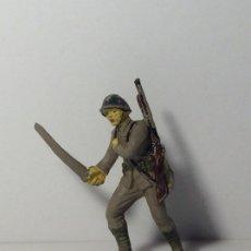 Figuras de Goma y PVC: FIGURA SOLDADO JAPONES EN GOMA DE PECH 86. Lote 194185516