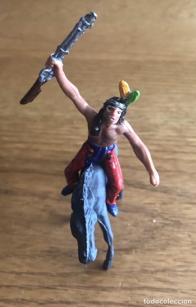 INDIO JECSAN (COMANSI, SOTORRES, REAMSA, LAFREDO) (Juguetes - Figuras de Goma y Pvc - Jecsan)