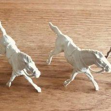 Figuras de Goma y PVC: 4 CABALLOS (COMANSI, REIGON, JECSAN, LAFREDO ETC). Lote 194205831
