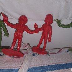 Figuras de Goma y PVC: FIGURAS THUNDERBIRDS. Lote 194221976