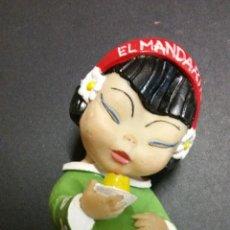 Figuras de Goma y PVC: MUÑECO DE GOMA FLAN MANDARIN. Lote 194228141