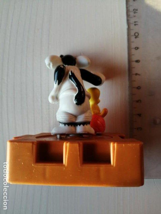 Figuras de Goma y PVC: Mc Donalds Piolín y Silvestre serie Space Jam Vintage Happy Meal Cajita Feliz año 1996 - Foto 4 - 194234282