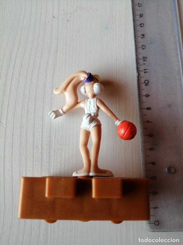 Figuras de Goma y PVC: Mc Donalds Lola Bunny serie Space Jam Vintage Happy Meal Cajita Feliz año 1996 - Foto 2 - 194234482