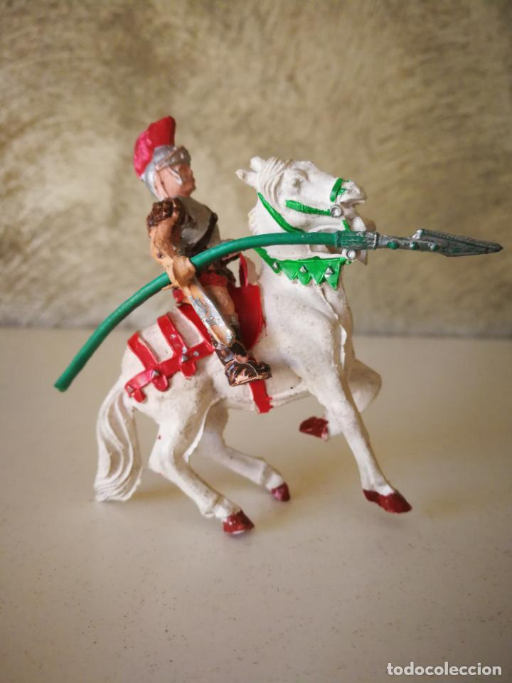 Figuras de Goma y PVC: MUY RARO GLADIADOR ROMANO DE GOMA SERIE GLADIADORES LAFREDO 54 MM - Foto 2 - 194243330