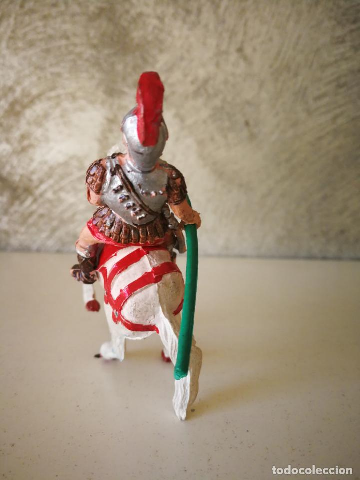 Figuras de Goma y PVC: MUY RARO GLADIADOR ROMANO DE GOMA SERIE GLADIADORES LAFREDO 54 MM - Foto 3 - 194243330