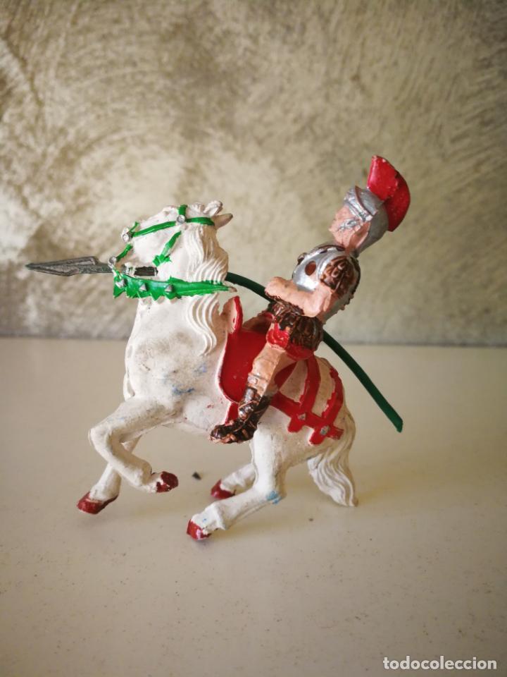 Figuras de Goma y PVC: MUY RARO GLADIADOR ROMANO DE GOMA SERIE GLADIADORES LAFREDO 54 MM - Foto 4 - 194243330