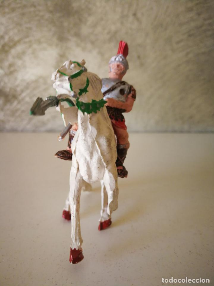 Figuras de Goma y PVC: MUY RARO GLADIADOR ROMANO DE GOMA SERIE GLADIADORES LAFREDO 54 MM - Foto 5 - 194243330