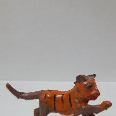 Figuras de Goma y PVC: TIGRE . REALIZADO POR LAFREDO . AÑOS 50 EN GOMA. Lote 194263748