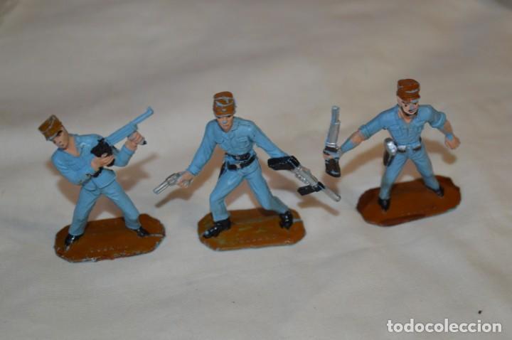 Figuras de Goma y PVC: 3 SOLDADOS CUBANOS / De COMANSI / NOVOLINEA - Antiguos - Plástico / PVC - ¡Mira fotos! - Foto 2 - 194274042