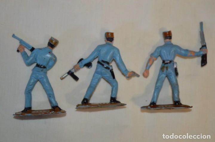 Figuras de Goma y PVC: 3 SOLDADOS CUBANOS / De COMANSI / NOVOLINEA - Antiguos - Plástico / PVC - ¡Mira fotos! - Foto 3 - 194274042