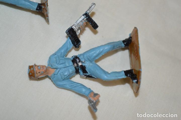 Figuras de Goma y PVC: 3 SOLDADOS CUBANOS / De COMANSI / NOVOLINEA - Antiguos - Plástico / PVC - ¡Mira fotos! - Foto 5 - 194274042