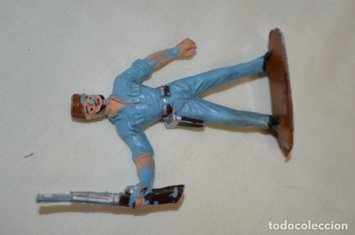 Figuras de Goma y PVC: 3 SOLDADOS CUBANOS / De COMANSI / NOVOLINEA - Antiguos - Plástico / PVC - ¡Mira fotos! - Foto 6 - 194274042