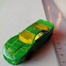 Figuras de Goma y PVC: MC DONALDS CRACKLE CAR RARO SERIE HOT WHEELS 1997 VINTAGE HAPPY MEAL CAJITA FELIZ AÑO 1997. Lote 194275701