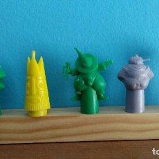 Figuras de Goma y PVC: DUNKIN LOTE CAPUCHONES. Lote 194280966