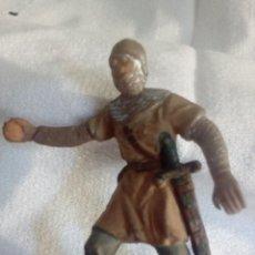 Figuras de Goma y PVC: SOLDADO MEDIEVAL CATAPULTA DE REAMSA NUM 180. Lote 194281265