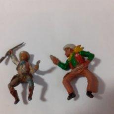 Figuras de Goma y PVC: FIGURAS GOMA VAQUEROS PECH,LAFREDO,REAMSA.. Lote 194284055