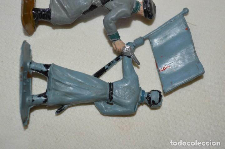 Figuras de Goma y PVC: 2 SOLDADOS RUSOS / De COMANSI / NOVOLINEA - Antiguos - Plástico / PVC - ¡Mira fotos! - Foto 6 - 194284756