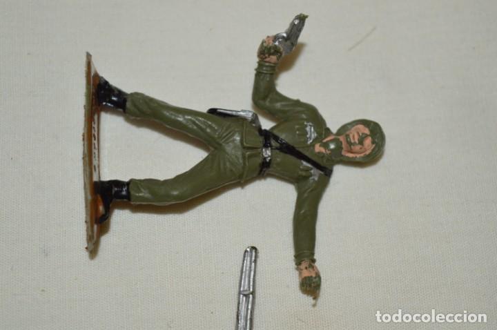 Figuras de Goma y PVC: 2 SOLDADOS AMERICANOS y 2 TANQUES / De COMANSI / NOVOLINEA - Antiguos - Plástico / PVC ¡Mira fotos! - Foto 4 - 194287285