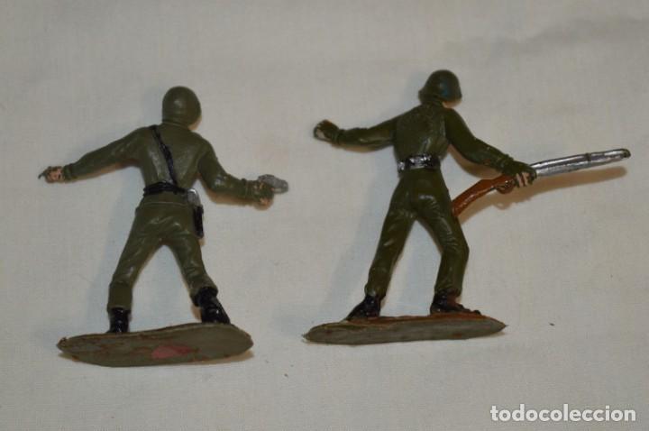 Figuras de Goma y PVC: 2 SOLDADOS AMERICANOS y 2 TANQUES / De COMANSI / NOVOLINEA - Antiguos - Plástico / PVC ¡Mira fotos! - Foto 6 - 194287285