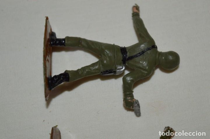 Figuras de Goma y PVC: 2 SOLDADOS AMERICANOS y 2 TANQUES / De COMANSI / NOVOLINEA - Antiguos - Plástico / PVC ¡Mira fotos! - Foto 7 - 194287285