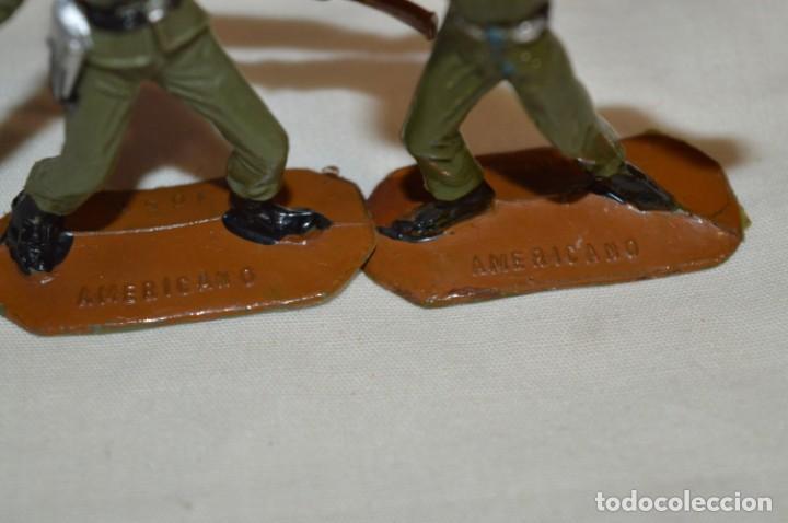 Figuras de Goma y PVC: 2 SOLDADOS AMERICANOS y 2 TANQUES / De COMANSI / NOVOLINEA - Antiguos - Plástico / PVC ¡Mira fotos! - Foto 9 - 194287285