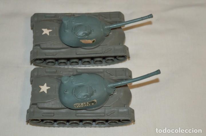 Figuras de Goma y PVC: 2 SOLDADOS AMERICANOS y 2 TANQUES / De COMANSI / NOVOLINEA - Antiguos - Plástico / PVC ¡Mira fotos! - Foto 13 - 194287285