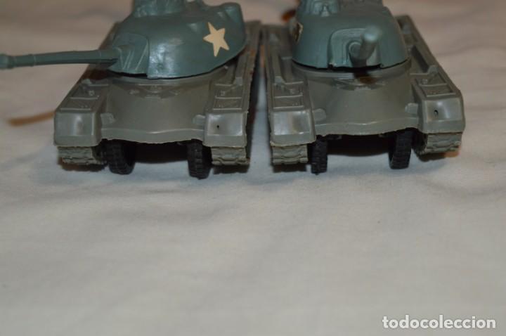 Figuras de Goma y PVC: 2 SOLDADOS AMERICANOS y 2 TANQUES / De COMANSI / NOVOLINEA - Antiguos - Plástico / PVC ¡Mira fotos! - Foto 17 - 194287285