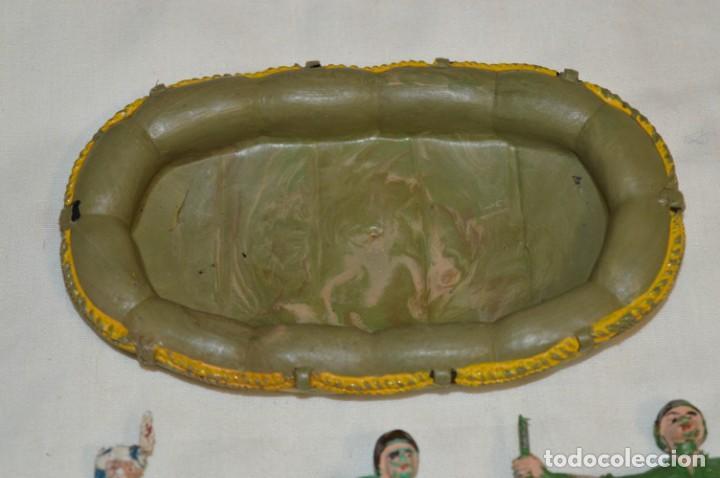 Figuras de Goma y PVC: 3 SOLDADOS VARIADOS y ZODIAC / De COMANSI / NOVOLINEA - Antiguos - Plástico / PVC ¡Mira fotos! - Foto 2 - 194288560