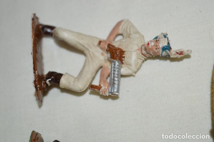 Figuras de Goma y PVC: 3 SOLDADOS VARIADOS y ZODIAC / De COMANSI / NOVOLINEA - Antiguos - Plástico / PVC ¡Mira fotos! - Foto 3 - 194288560