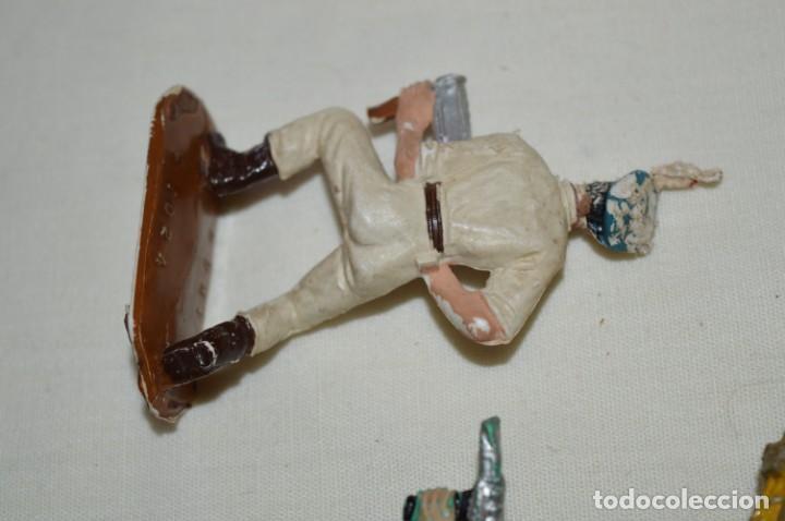 Figuras de Goma y PVC: 3 SOLDADOS VARIADOS y ZODIAC / De COMANSI / NOVOLINEA - Antiguos - Plástico / PVC ¡Mira fotos! - Foto 6 - 194288560