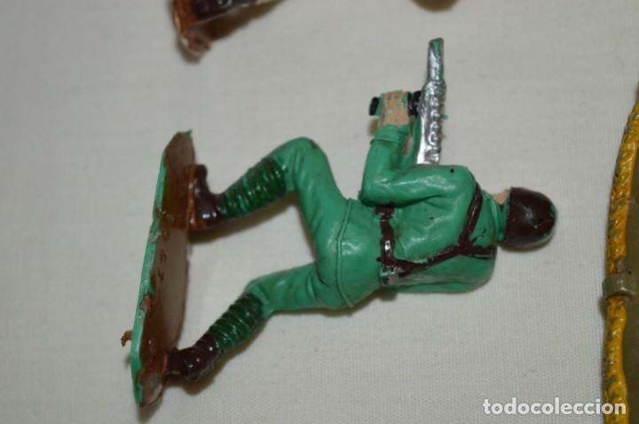 Figuras de Goma y PVC: 3 SOLDADOS VARIADOS y ZODIAC / De COMANSI / NOVOLINEA - Antiguos - Plástico / PVC ¡Mira fotos! - Foto 7 - 194288560
