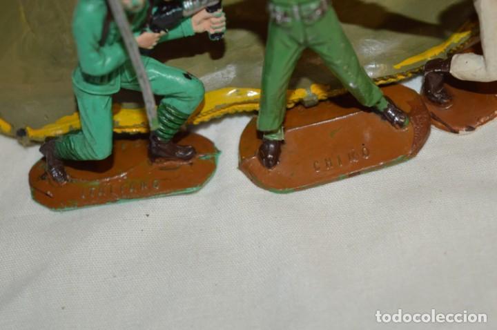 Figuras de Goma y PVC: 3 SOLDADOS VARIADOS y ZODIAC / De COMANSI / NOVOLINEA - Antiguos - Plástico / PVC ¡Mira fotos! - Foto 11 - 194288560
